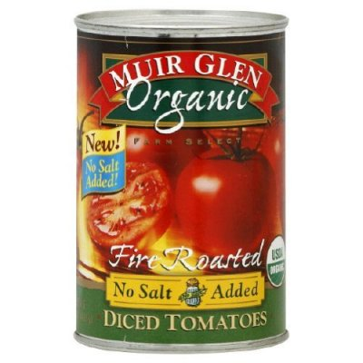 Organic Tomatoes Diced And No Salt Added