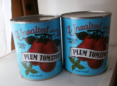 Plum Tomatoes, Unsalted Crushed