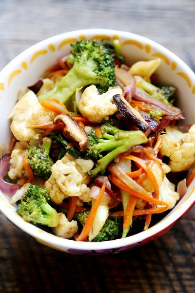 Stir-Fry Vegetables, Broccoli Stir-Fry