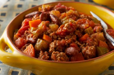 Chili, Turkey with Beans