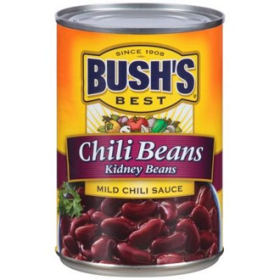 Mild Chili Beans, Red Beans In Chili Sauce