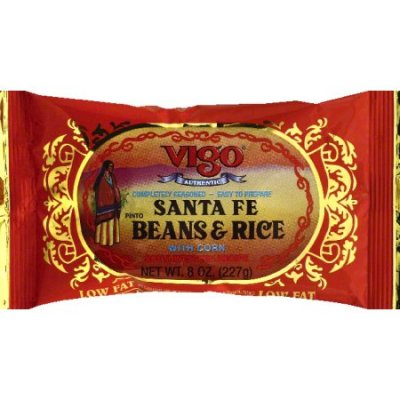 Santa Fe Pinto Beans & Rice with Corn
