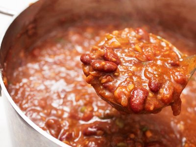 Vegetarian Chili With Beans, Original Vegetarian