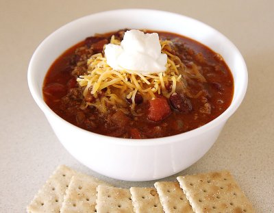 Chili, Chunky with Beans
