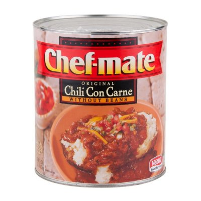 Chili Con Carne with Beans, Hot