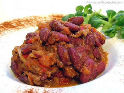 Chili Con Carne,Hot W/Beans