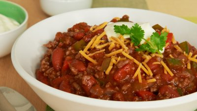Chili with Beans, Homestyle
