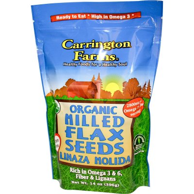 Organic Milled Flax Seeds
