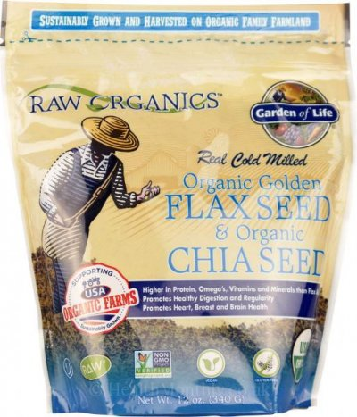 Real Cold Milled Organic Golden Flax Seed