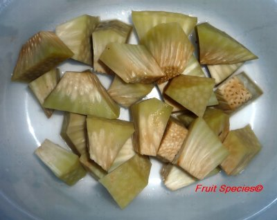 Seeds, breadfruit seeds, raw