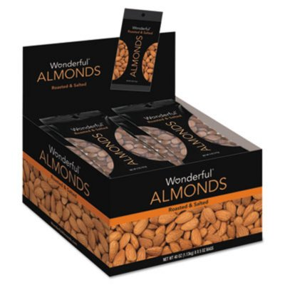 Dry Roasted and Salted Almonds