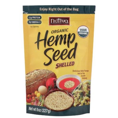 Hemp Seed, Organic, Raw Shelled