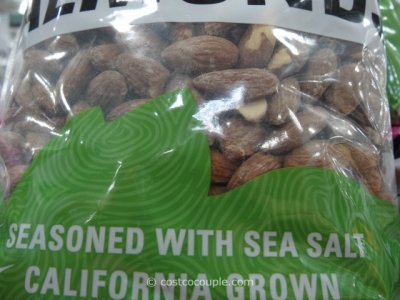 Organic Almonds, Dry Roasted with Sea Salt