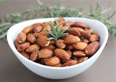 Almonds, Oil Roasted, with Salt