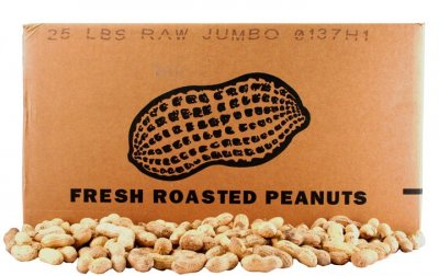 Raw & Natural Jumbo Peanuts