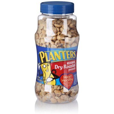 Unsalted Dry Roasted Snax Peanuts