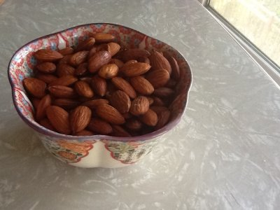 Almonds Roasted With Sea Salt