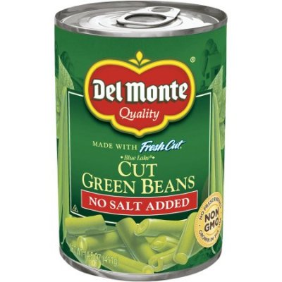 Cut Green Beans, Blue Lake, No Salt Added