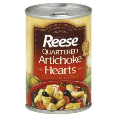 Quartered Artichokes Hearts