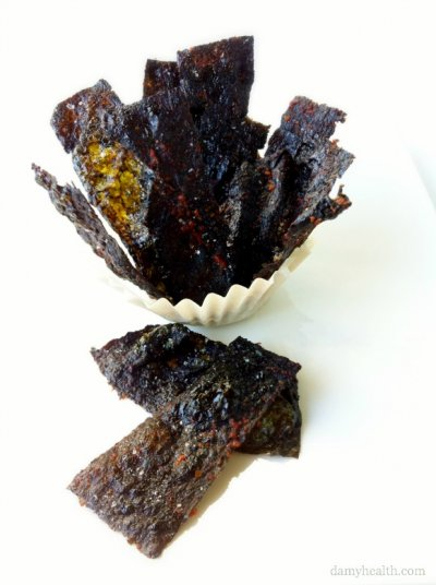 Roasted & Lightly Sea Salted Vegan Korean Nori Chips