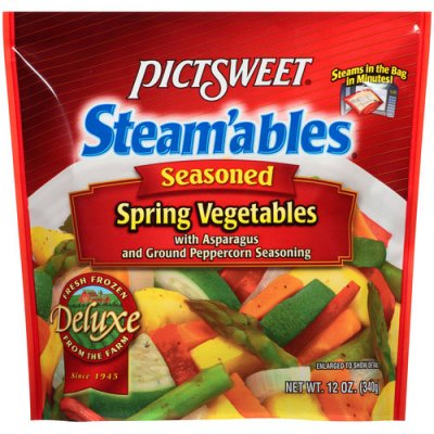 Steamables, Seasoned California Vegetables