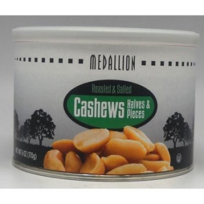 Roasted & Salted Cashew Halves Pieces