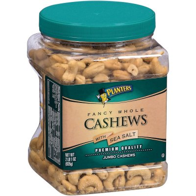 Whole Cashews Roasted With Sea Salt