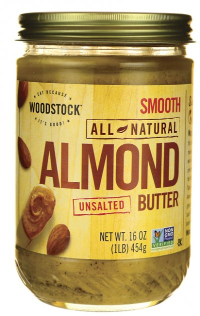 All Natural Roasted Almond Butter