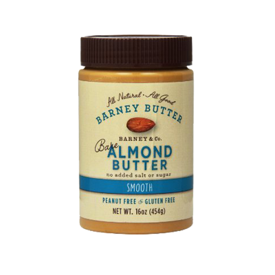 Barney Butter,  Bare Almond Butter, Smooth