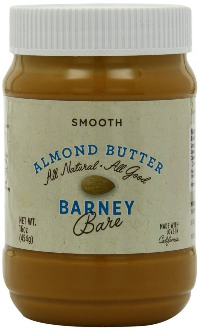Barney Butter, Bare Almond Butter, No Added Salt Or Sugar, Smooth