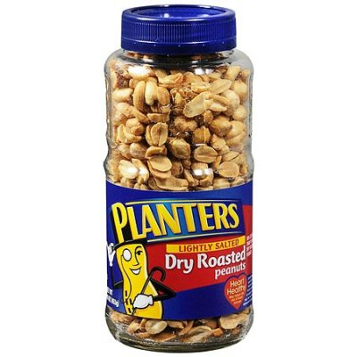 Peanuts, Dry Roasted, Lightly Salted