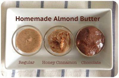 Smooth Almond Butter Spread