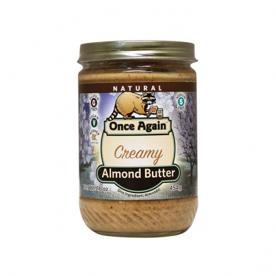 Creamy Almond Butter, Made With Dry Roasted Almonds