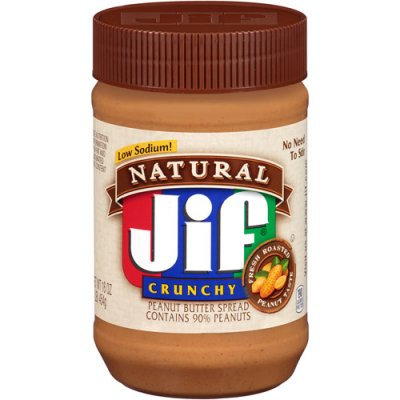 Peanut Butter, Natural, Crunchy
