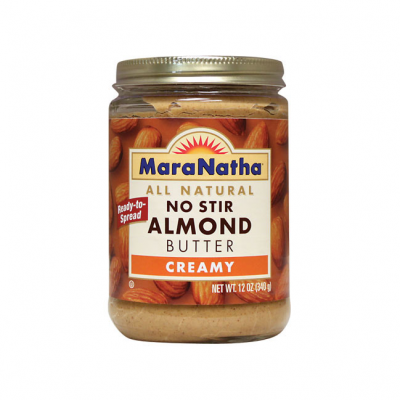 All Natural No Stir Almond Butter Creamy