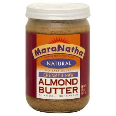 Almond Butter, Crunchy, No Stir