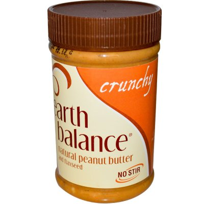 Natural Peanut Butter, Crunchy