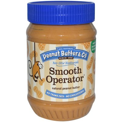 Peanut Butter, Smooth, Natural