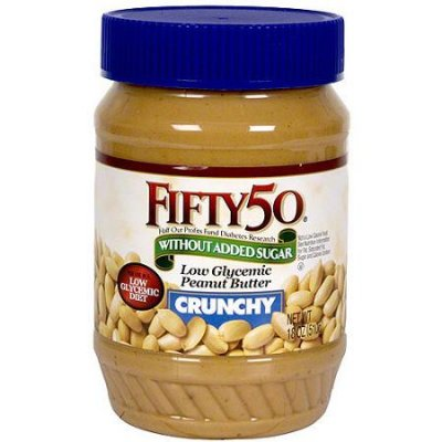 Low Glycemic Peanut Butter, Creamy