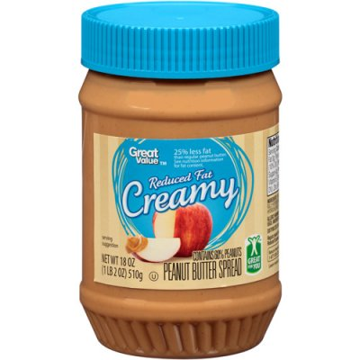 Peanut Spread, Reduced Fat, Creamy