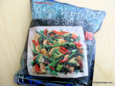 Asian Vegetables with Beijing Style Soy Sauce
