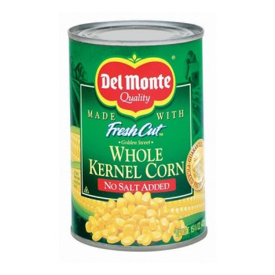 No Salt Added Whole Kernel Golden Sweet Corn