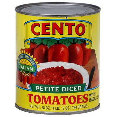 Tomatoes, Diced, Petite
