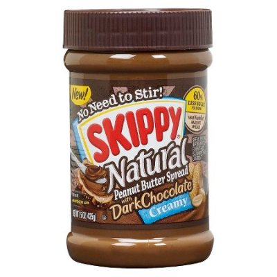 Natural Peanut Butter Spread With Dark Chocolate Creamy