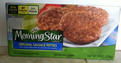 Meatless & Soy Free Sausage Patties