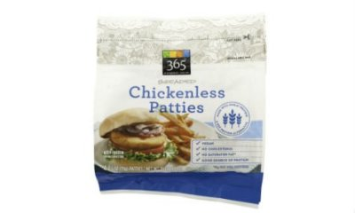 Chickenless Patties, Breaded Protein Patties