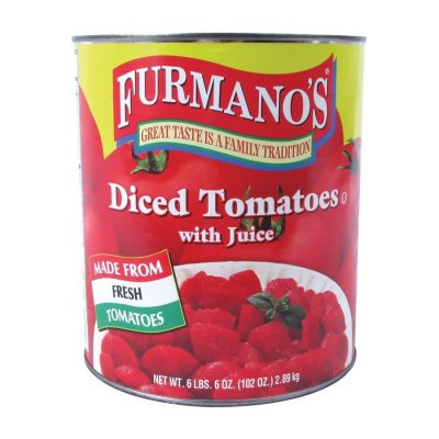 Diced Tomatoes, Peeled, In Juice