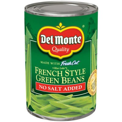 Green Beans, French Style, No Salt Added