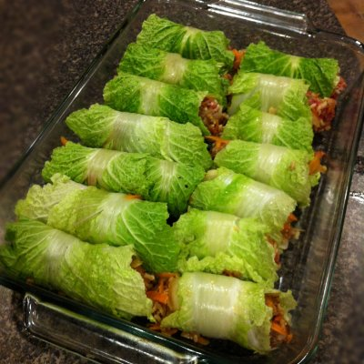 Napa Cabbage, Prepared