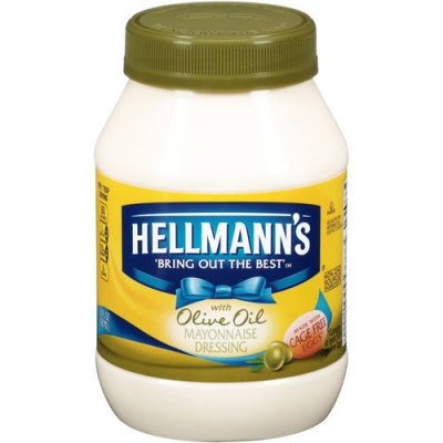 Mayo, Mayonnaise Dressing, with Extra Virgin Olive Oil,
